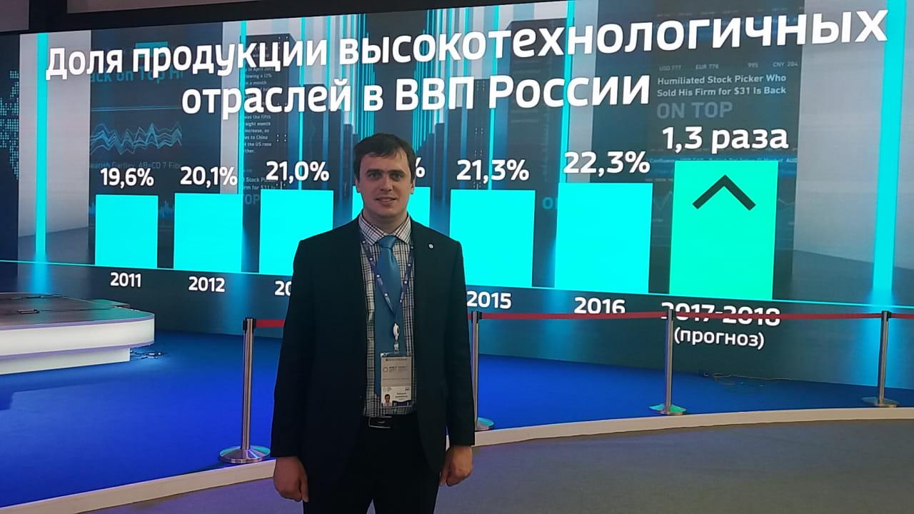 Самохин А.А. принял участие в Форуме МСП, ПМЭФ 2017